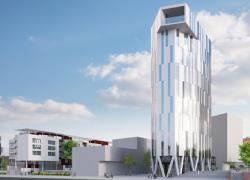 Strasbourg: première pierre d'une tour de logements productrice d'énergie