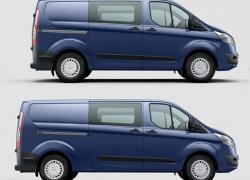 Ford Transit Custom: un confort de berline  dans un corps d'utilitaire
