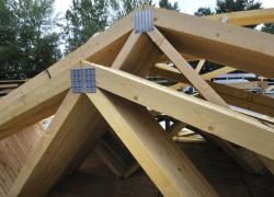 NF DTU 31.3 - Charpentes en bois assemblées par connecteurs métalliques