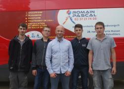 Prix du jeune maître d'apprentissage : Romain Pascal, 35 ans, convaincu !