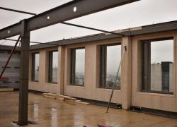 A Paris, un programme de bureaux R+7 en bois acier