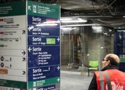 Les ouvriers non payés du métro suspendent leur grève
