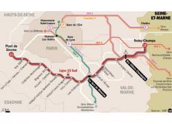 Un groupement géré par Bouygues TP construira en partie la ligne 15 Sud
