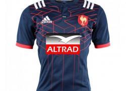 Altrad premier sponsor maillot du XV de France