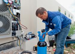 Froid et climatisation : la détection de fuites au banc d'essai