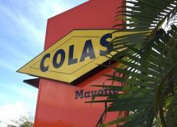Grève chez Colas Mayotte :