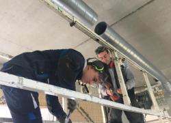 Ma vie d'apprenti : William en binôme sur un chantier