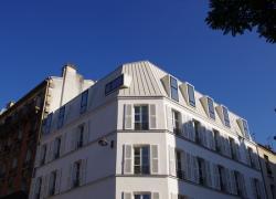 Restructuration et surélévation d'un immeuble de logements sociaux