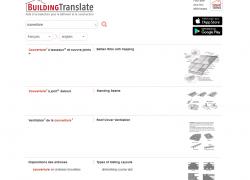 Un site de traduction gratuit dédié au bâtiment et à la construction