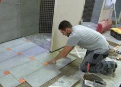 Ma vie d'apprenti : Pose de carrelage en rénovation au CFA