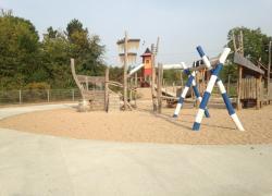 Des aires de jeux en béton drainant ... et une certification écologique