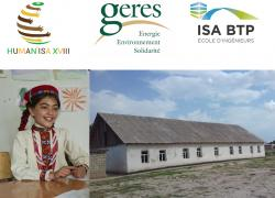 Les ingénieurs de l'ISA BTP agrandissent une école au Tadjikistan
