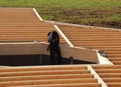 Le plancher bois de rez-de-chaussée devient une technique courante