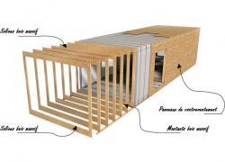 Un promoteur coopératif construit 11 maisons à ossature bois à Saint-Gilles (35)