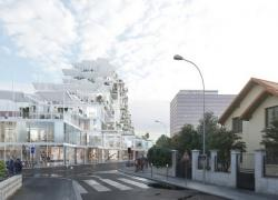Deux immeubles hybrides bois béton pour le projet Vertical Village (93)