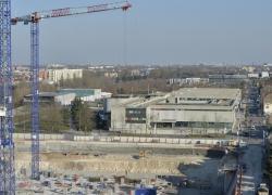 A Lille, un nouveau complexe de cinémas Pathé, dessiné par Buren