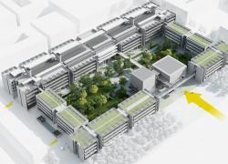 Ventilation naturelle et béton clair pour l'ENS de Paris-Saclay