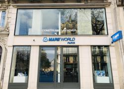 Mapei ouvre un espace pour les décideurs à Paris