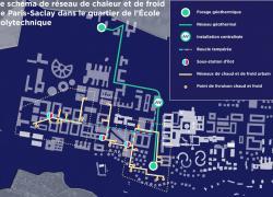 Paris-Saclay: un réseau de chaleur de dernière génération
