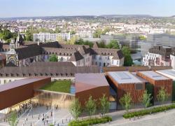 Dijon pose la première pierre de sa Cité de la gastronomie et du vin