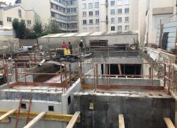 Baisse importante de la construction des immeubles de logements