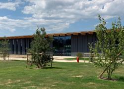 Construction mixte bois-acier pour le grand atelier Louis Vuitton