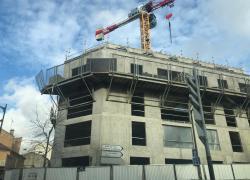 La construction de logements baisse un peu en France en 2019