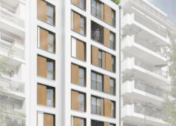 Du béton de chanvre sur 8 étages à Boulogne-Billancourt