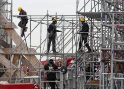 Notre-Dame: une expo-photo valorise les savoir-faire des métiers du Patrimoine