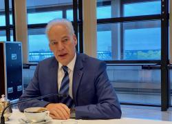 Alain Griset, ministre délégué chargé des PME :