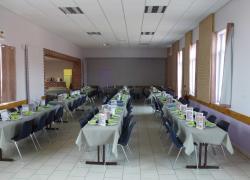 Les ouvriers du bâtiment autorisés à déjeuner dans les salles polyvalentes