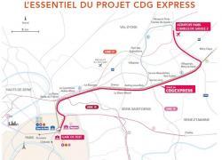 La justice autorise la reprise du chantier du CDG Express