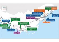 Nouvelle ligne Provence-Côte d'Azur: un accord sur le financement