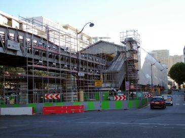 Plus de 7.000 chantiers à Paris, soit 1.300 de plus qu'en avril