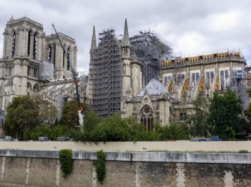 Notre-Dame: l'échafaudage peut encore s'écrouler
