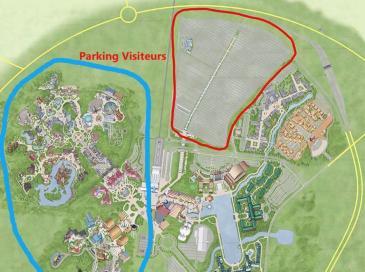 Disneyland Paris va se doter de la plus grande ombrière photovoltaïque d'Europe