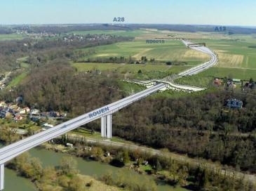 Contournement autoroutier de Rouen: un premier engagement financier du département