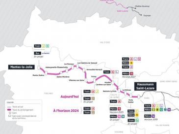 IIe-de-France : d'importants surcoûts pour le chantier du RER E