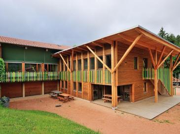 Une extension bois exemplaire pour la coopérative Coforet