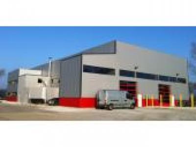 hangar en kit polyvalent industry 39 xl charpente b ton 45874p1. Black Bedroom Furniture Sets. Home Design Ideas
