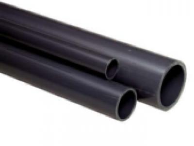 Tubes PVC-U, gris