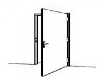 bloc porte battant coupe feu 30 mn bloc de porte 36718p1. Black Bedroom Furniture Sets. Home Design Ideas