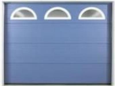 Porte sectionnelle m tallique portes de garage for Porte de garage sectionnelle gypass