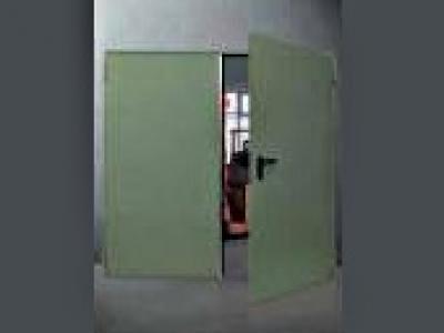 Porte en acier mz un ou deux vantaux portes sp ciales - Porte deux vantaux ...
