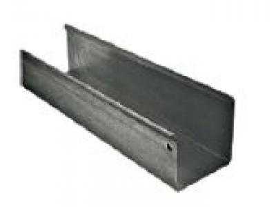 goutti re carr e zinc evacuation des eaux pluviales 38222p1. Black Bedroom Furniture Sets. Home Design Ideas