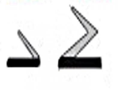 Joints de rénovation adhésifs bi dureté