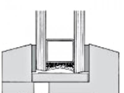 """Joints de vitrage à sec mono dureté """" 749 """""""
