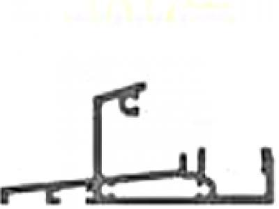 Le seuil hauteur 33 mm à nez incliné