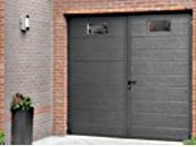 Duoport Aluminium Portes de garage battantes Menuiseries et 260p1 7a3f789ba6a