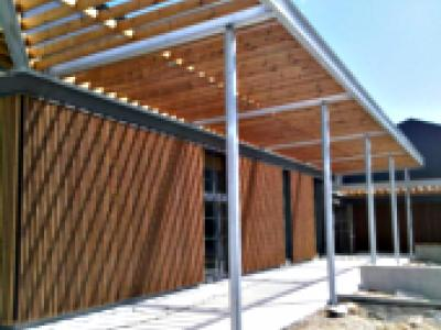 brise soleil epic a bardages et panneaux bois bardages. Black Bedroom Furniture Sets. Home Design Ideas